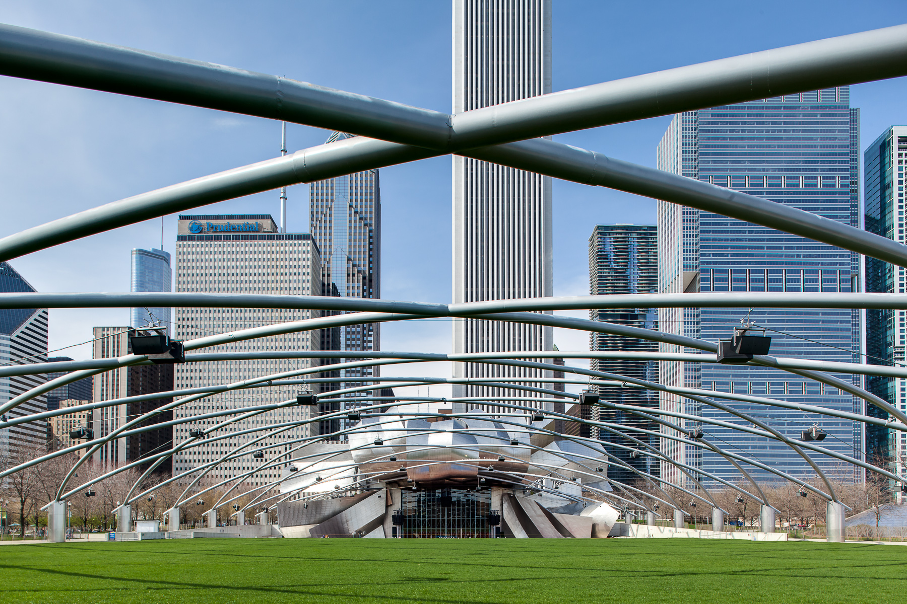 Millenium Park - Chicago Architecture